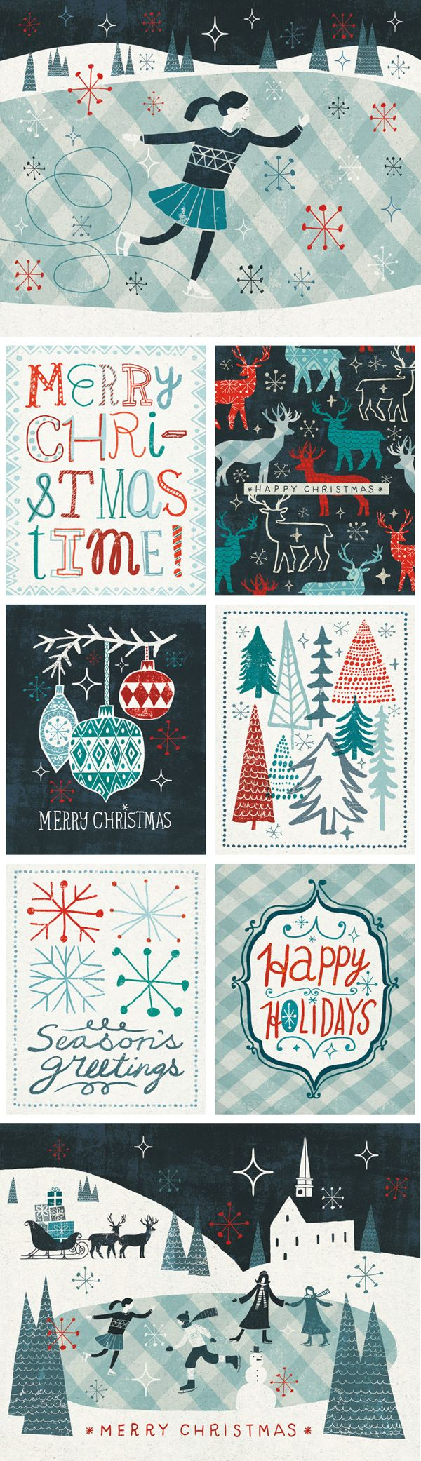 Merry Christmastime Collection by Michael Mullen