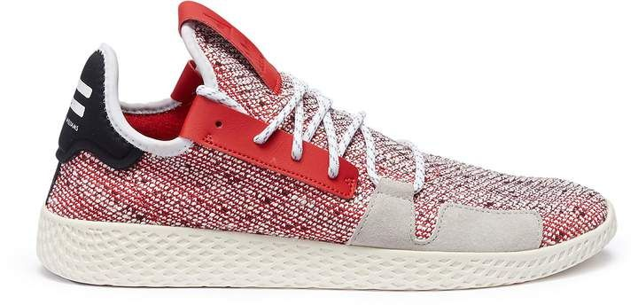 b59d6892e0909 adidas By Pharrell Williams  Solar Hu Tennis V2  Primeknit sneakers ...