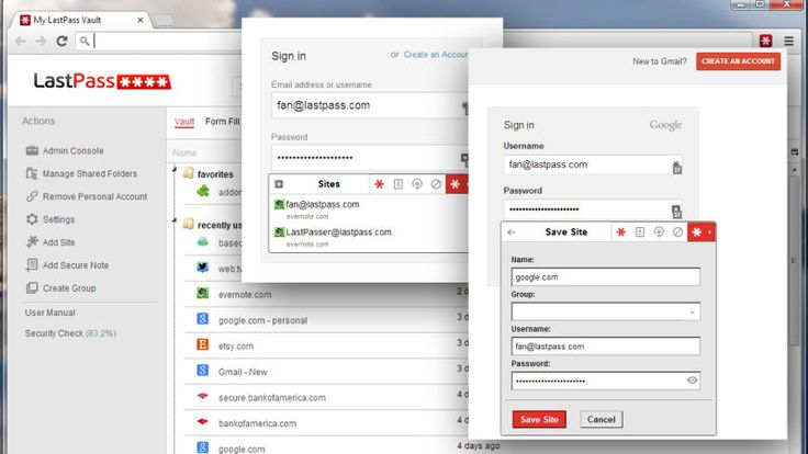 Five Best Password Managers