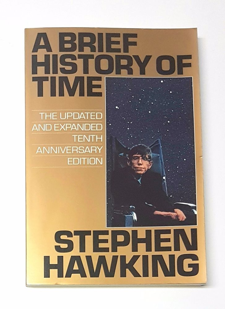 A Brief History of Time by Stephen Hawking - 1998 - Tenth Anniversary  212 Pages | eBay