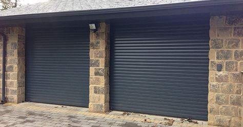 Case Study - Manor House Developments commission ABi Garage Doors to install Hormann RollMatic automatic aluminium roller doors in Leeds.