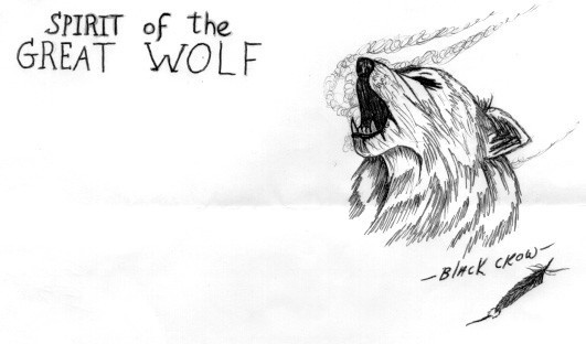 wolf: Cry Wolf, Spirit Wolves, Lonely Wolf, Art, Wolf Lovers, Black Crows