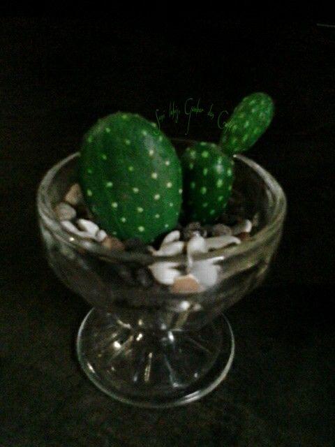 Kaktus Batu  Kubuat sebagai pajangan, penghias ruang juga taman.    ♡  ~Christina's Art~