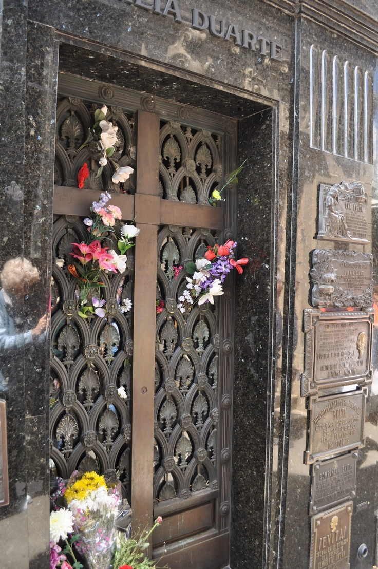 I would like to visit Eva Perons tomb. It's on the bucket list.