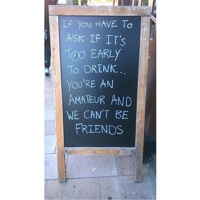 33 Brilliantly Blunt Pub Signs That Will Make You Want A Drink