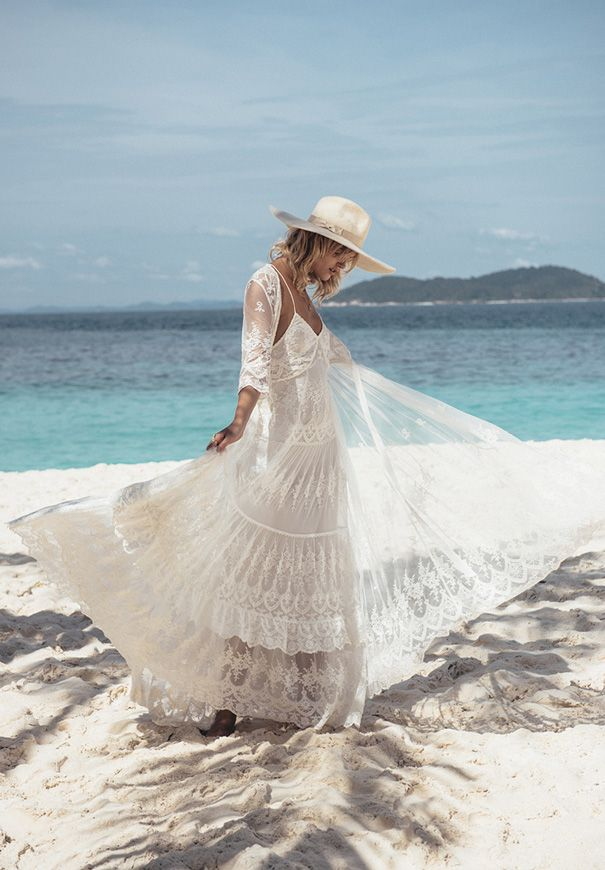 SPELL BRIDE 2015 COLLECTION // #beach #wedding #lace #bride #gypsy #bohemian #spell #byronbay #dress #ceremony #reception #relaxed #gown