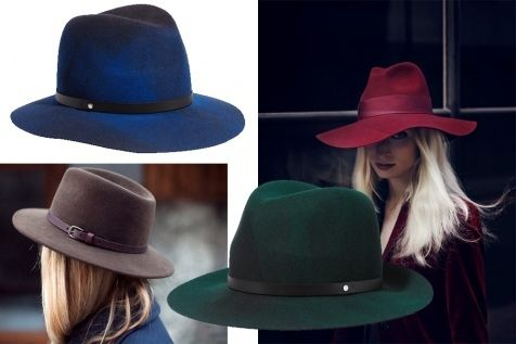 Шляпа-федора. Модные шляпы весны 2017