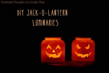 Jack O'lantern Candle Holders · Candle Making | CraftGossip.com