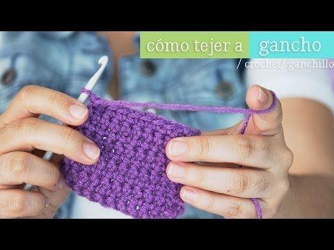 Haz un Granny Square - Gancho [ Mini serie de Tejido EP 2 ] - YouTube