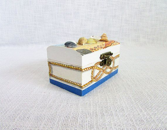 Custom seashells box shells jewelry box custom gift wedding