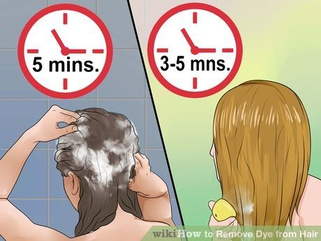 Image titled Remove Dye from Hair Step 10