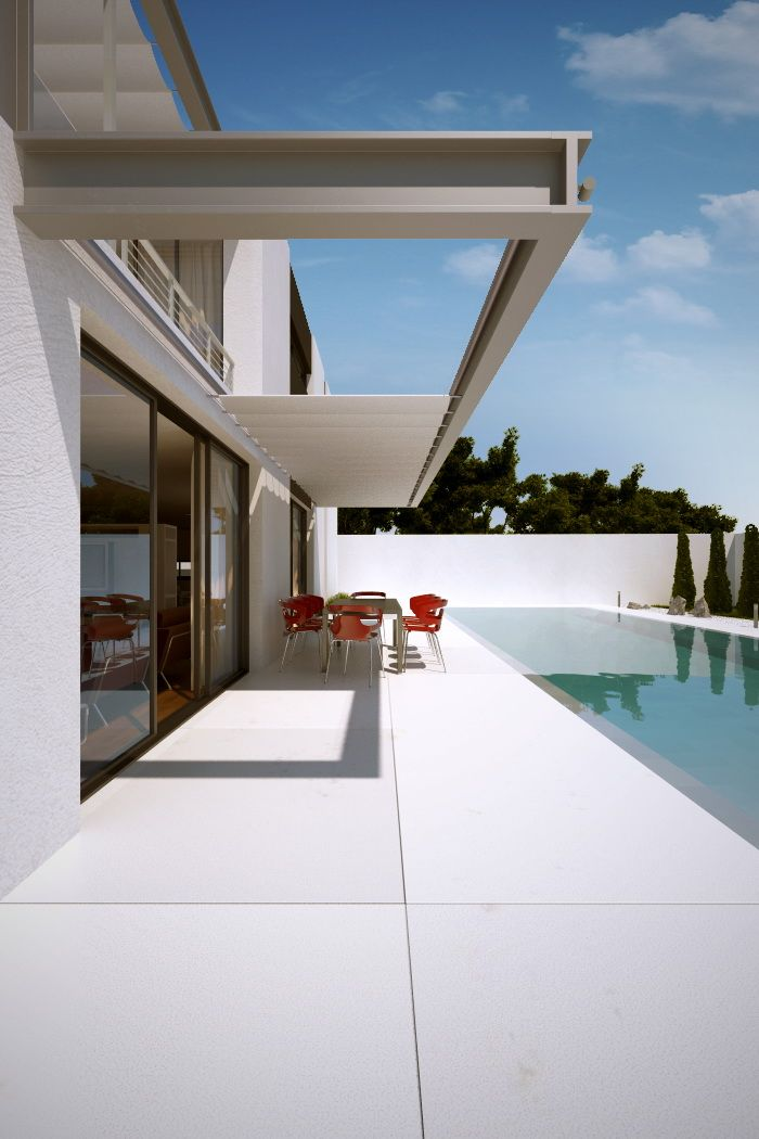 58 best swimming pools images on pinterest natural pools for Bauhaus swimmingpool