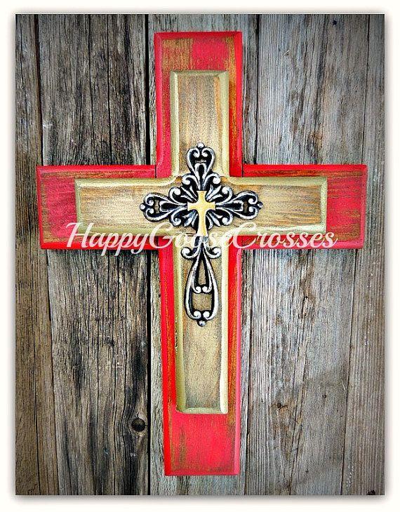 Top 239 best Wall Crosses images on Pinterest   Wood crosses, Wooden  IU12