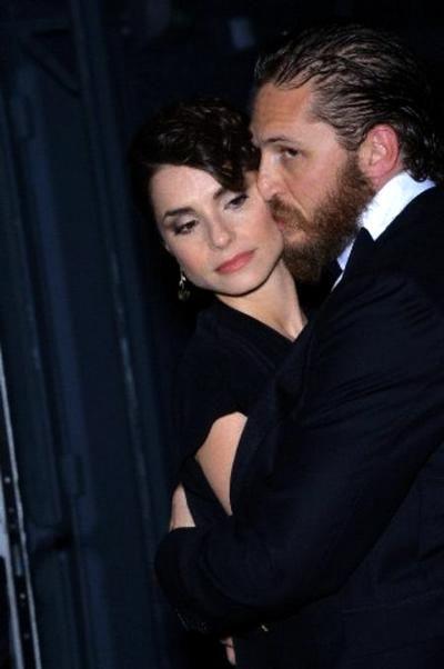 Tom Hardy & Charlotte Riley - Cannes 2012