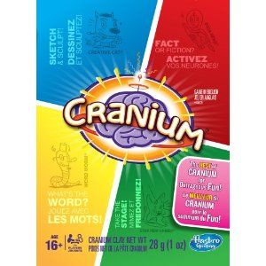 Cranium Party is the game we always take out when we invite friends over. Great fun !