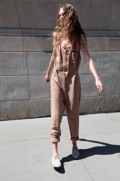 Stine Goya Silk and Linen Birdcage Jumpsuit by No.6, $115