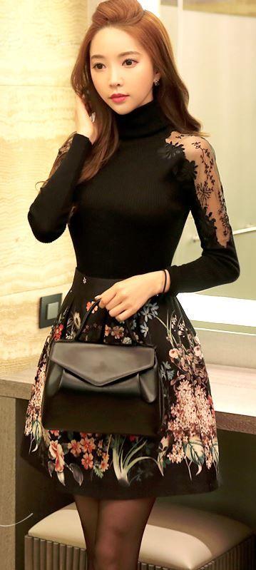 StyleOnme_No. 35291 #bag #totebag #feminine #simple #plain