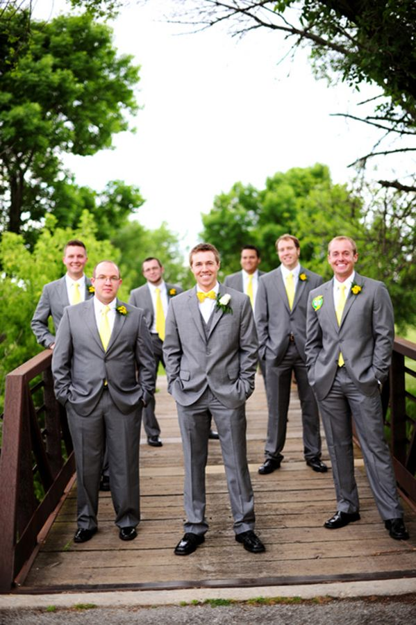 A Handmade Sweet & Lively Gray & Yellow Odyssey Country Club Wedding | Fab You Bliss