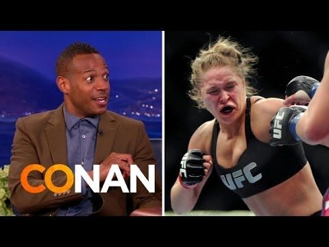 Marlon Wayans Wants Ronda Rousey To Dominate Him - YouTube