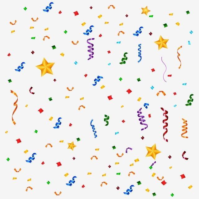 Confeti De Cumpleanos Colorido Con Estrella Decorativo Brillo Efecto Png Y Vector Para Descargar Gratis Pngtree In 2021 Colorful Birthday Colorful Birthday Party Decorations Colorful Birthday Party
