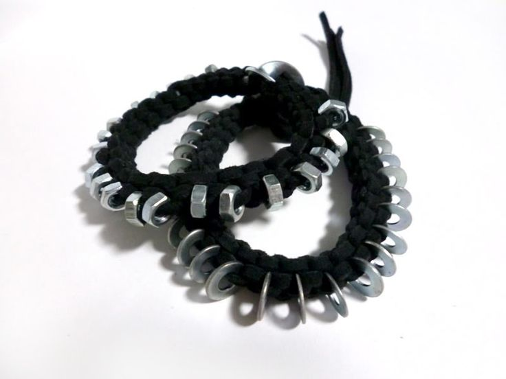 DIY tutorial-how to make braided bracelet with Hex Nuts – Pandahall
