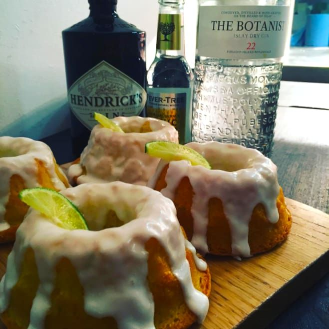 This bustling café in Glasgow city centre is mega popular with shoppers, not least because of its fantastic cakes like this amazing, zingy Scottish gin-infused sponge topped with a lime icing. It might not get you drunk, but it tastes great.
