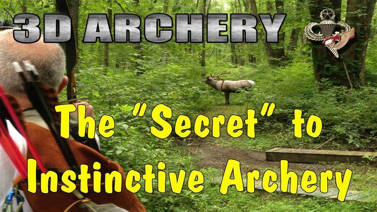 The Secret to Instinctive Archery. Pretty helpful video.