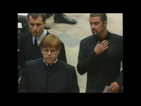 Elton John - Candle in the Wind/Goodbye England's Rose - Princess Diana's Funeral 1997 - YouTube