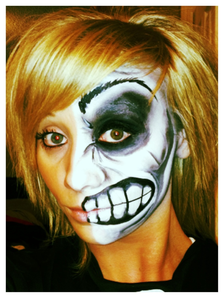 101 best face painting images on Pinterest Artistic make up, Face - face painting halloween ideas