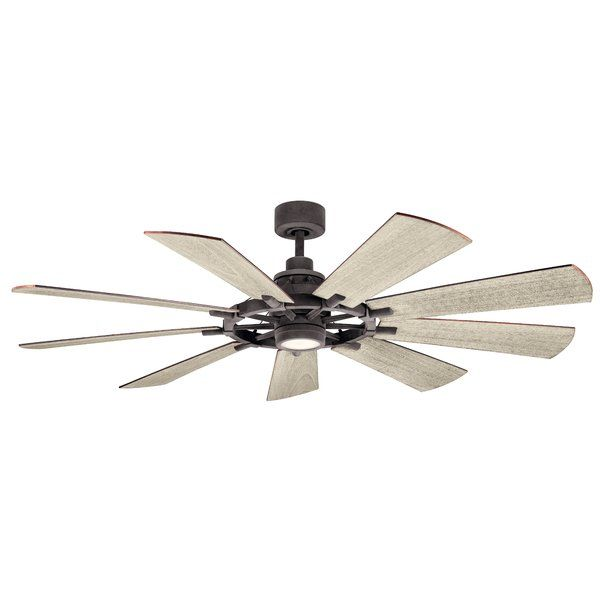 65 Alex 9 Blade Led Ceiling Fan In 2019 New Home Decor Ceiling