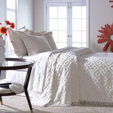 17 Best Ideas About Chenille Bedspread On Pinterest
