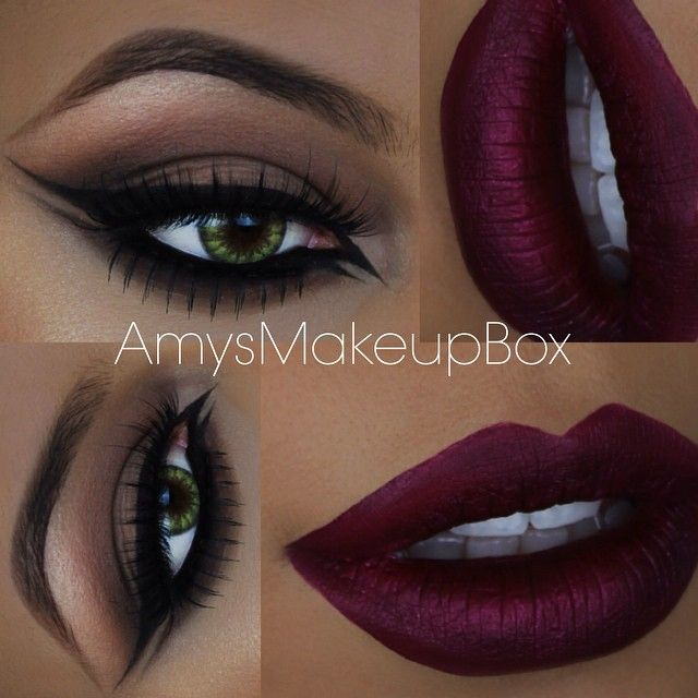 """This makeup look is on my YOUTUBE direct link in my bio! @tartecosmetics tarteist liner in black #eyeofthetarteist @anastasiabeverlyhills 'sad girl'…"""