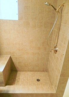 17 best showers images on Pinterest | Bathroom ideas, Tiled ...