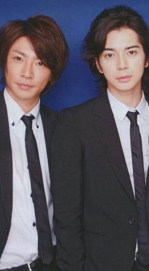 Jun Matsumoto and  Aiba