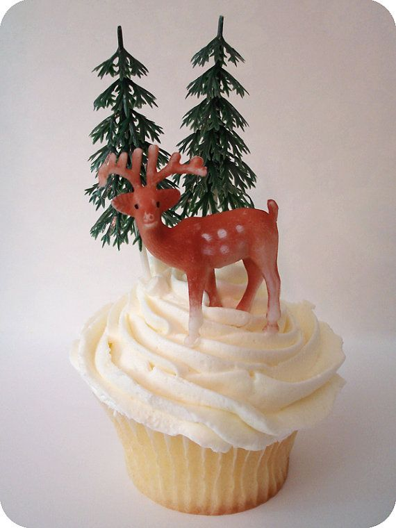 vintage cupcake topper @Julie Forrest Head OMG for our Ungly Christmas sweater party! LOL