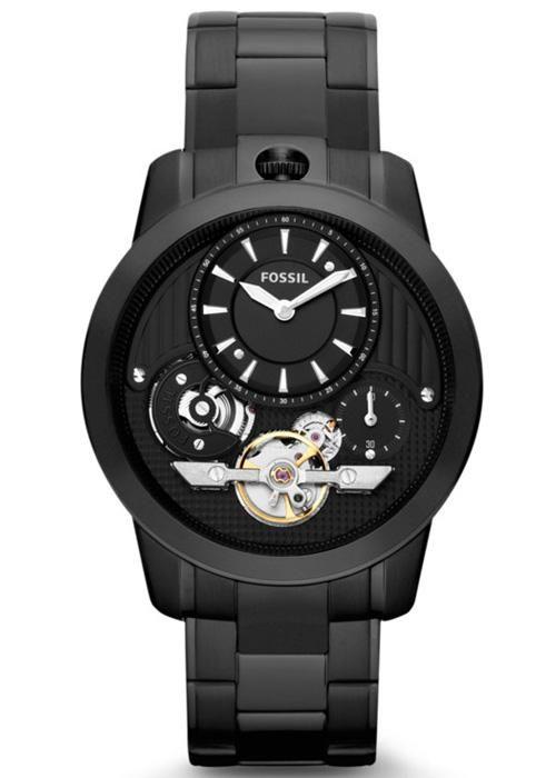 Fossil erkek saat modelinin iç mekanizmasına özellikle dikkat etmelisiniz.