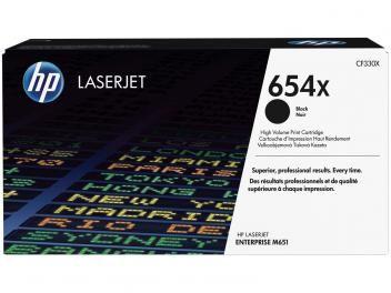 Cartucho de Tinta HP Preto - LaserJet 654X