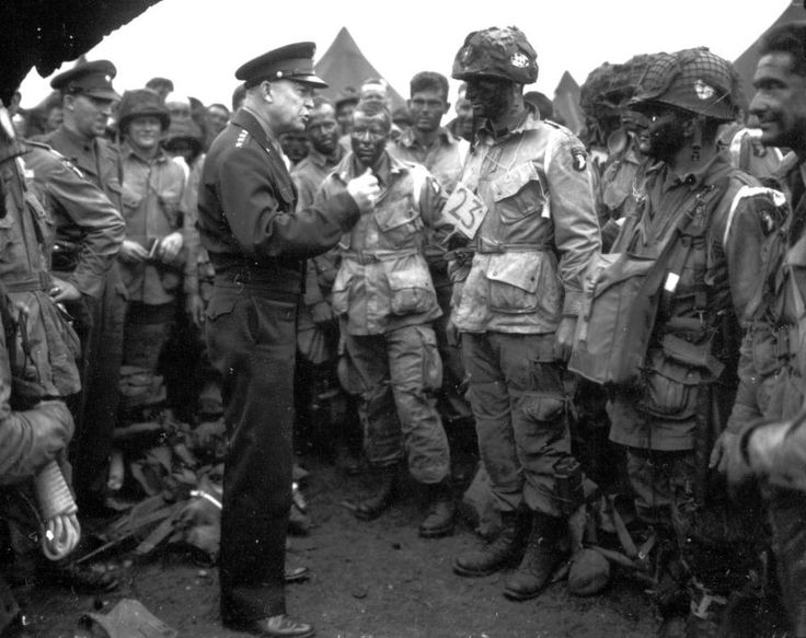 d day american commander
