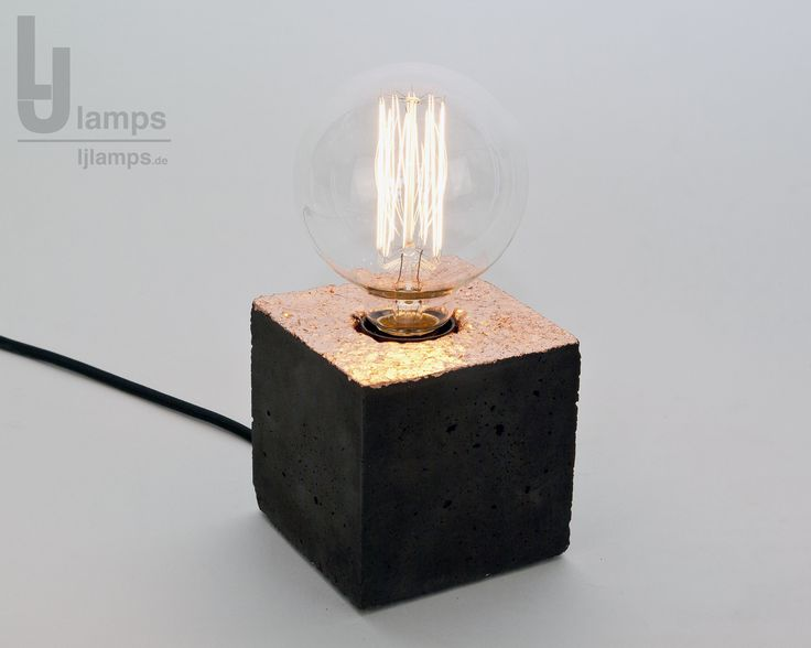 1000 images about beton lampe ljlamps leuchte design on pinterest beautiful industrial. Black Bedroom Furniture Sets. Home Design Ideas