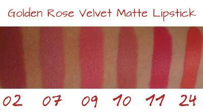 karamella: Golden Rose Velvet Matte Lipstick