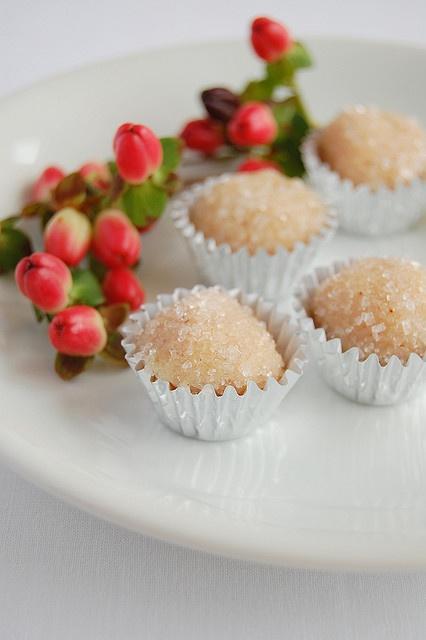 spiced brigadeiros - a traditional brazilian candy made around the holidays