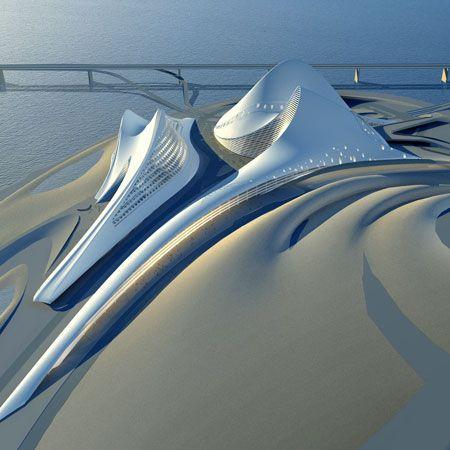 Dubai Opera House by Zaha Hadid #Architecture #Dubai_Opera_House #Zaha_Hadid < Zaha Hadid is a genius