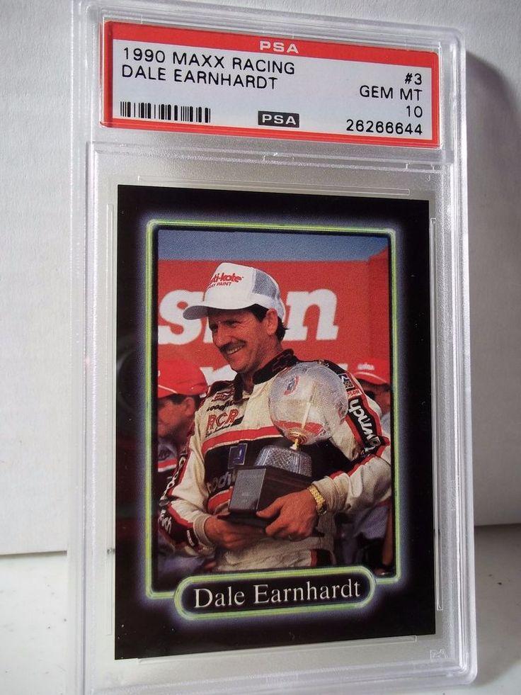 1990 Maxx Dale Earnhardt PSA Gem Mint 10 Racing Card 3
