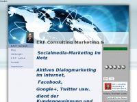 erf-consult.de - Screenshot