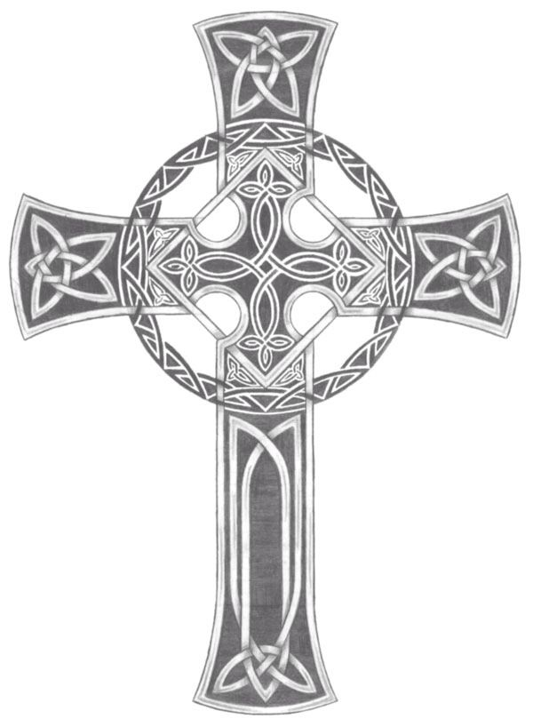 This is the actual cross that I carried around for years until I finally had it done from knee to ankle.  It's gorgeous!!