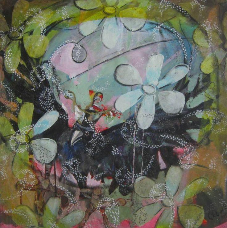 """Saatchi Art Artist Sue Clowes; Painting, """"Diamond Duke"""""""
