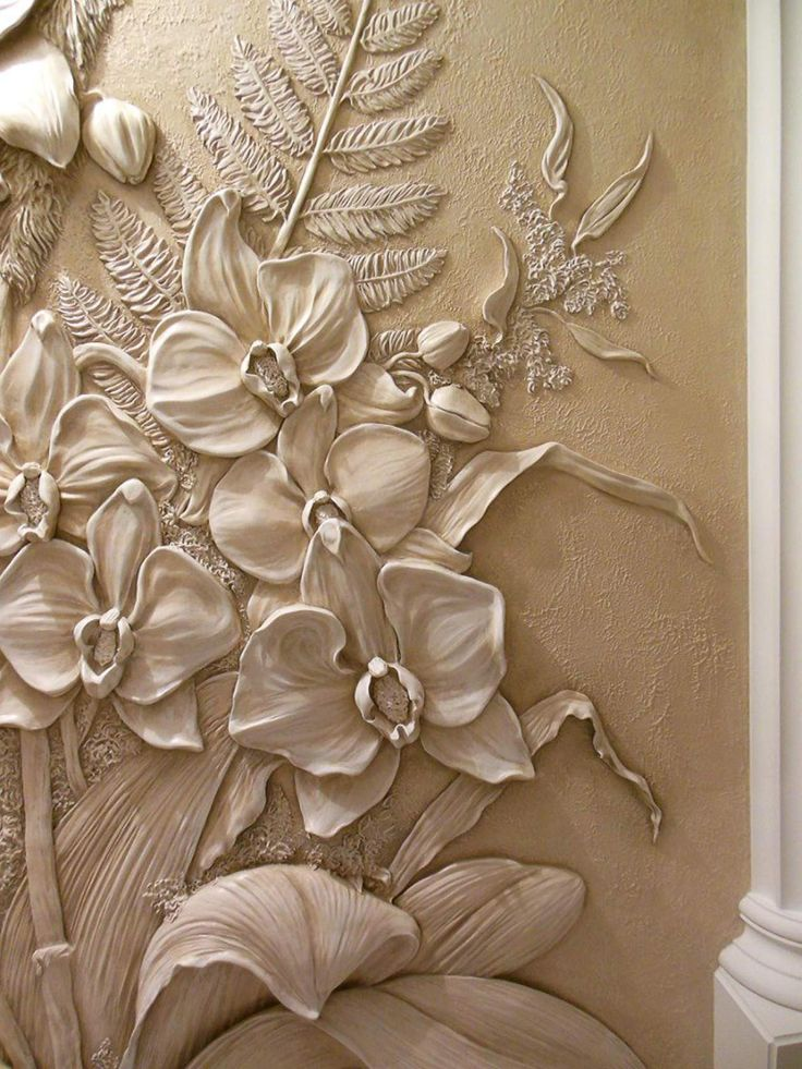 Pinterest plaster art clay and for Plaster wall art