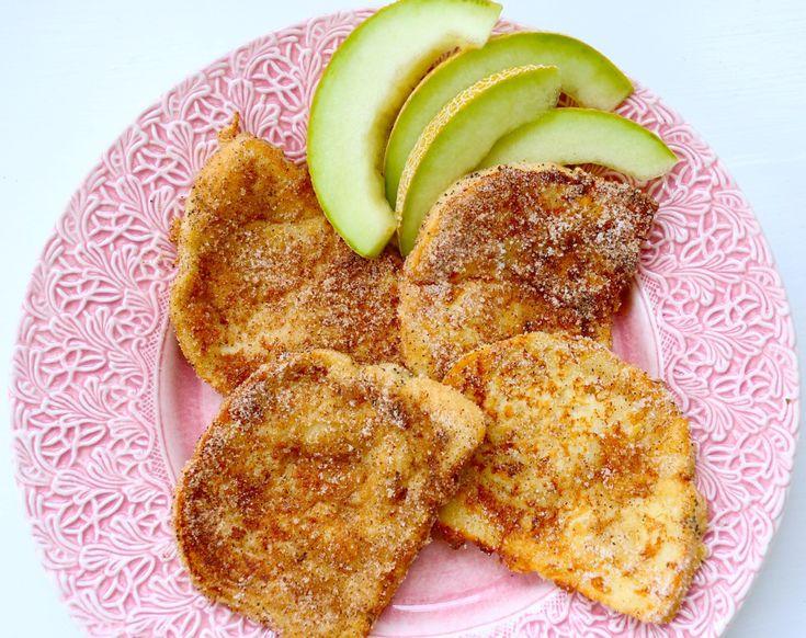 Bjud på barnens favoriter till lördagsfrukosten: Fattiga riddare går alltid hem. En gammal klassiker, som är perfekt att göra om du har lite toast bröd över hemma. Till 4 riddare: 4 toastbröd / rostbröd 1 ägg 1 1/2 dl mjölk 1/2 dl vetemjöl smör till stekning Kanel & socker till … Läs mer