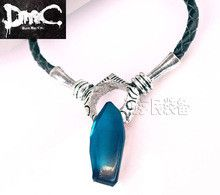 DMC 5 Devil May Cry Dante Vergil necklace for woman and man Artificial crystal necklaces & Pendant personalized Extend chain