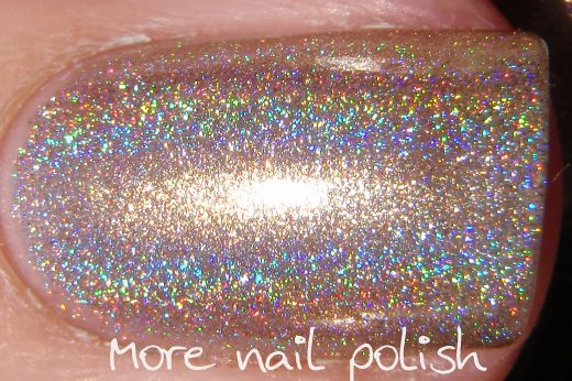 Spectraflair for all and a Spectraflair franken recipe ~ More Nail Polish